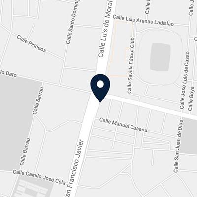 Mapa-Clinica-Dentimagen-Sevilla